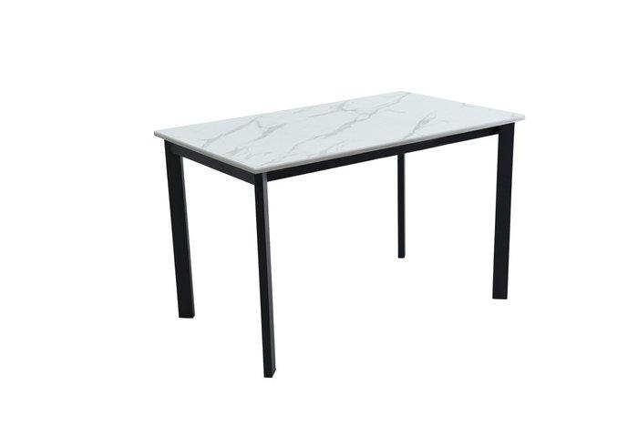 Раздвижной обеденный стол Пуэрто с белой столешницей
