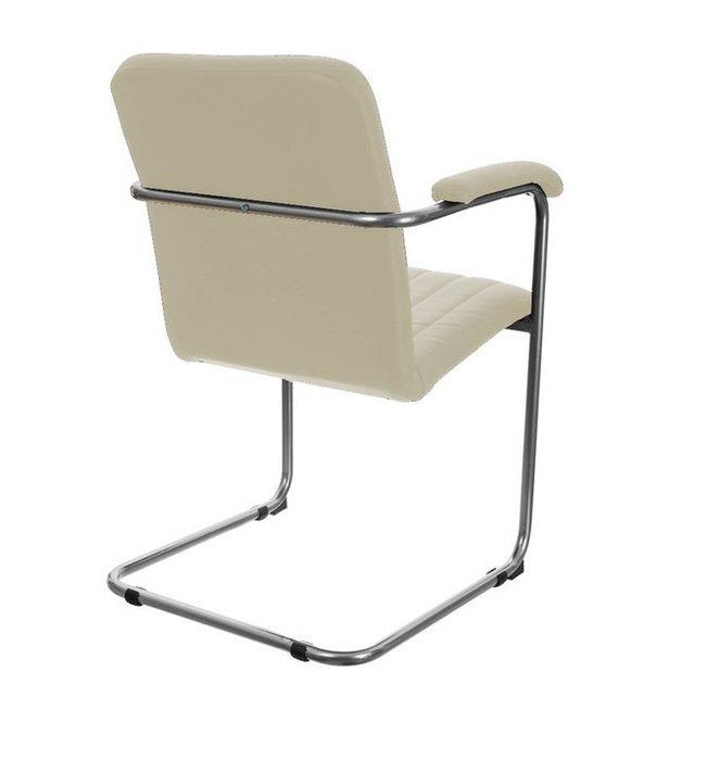 Офисный стул Румба бежевого цвета