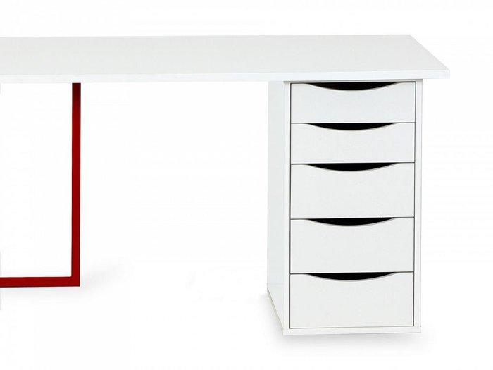 Письменный стол Board белого цвета