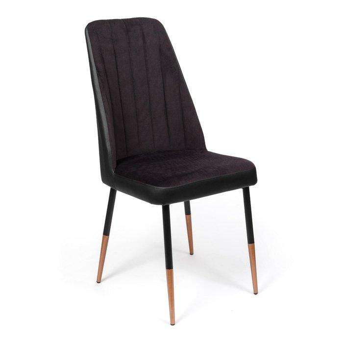 Кухонный стул Мокка Premium черного цвета