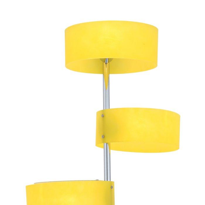 Торшер Foresta с желтыми плафонами