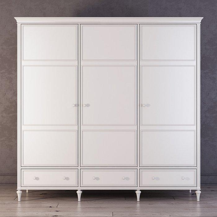 Шкаф трехстворчатый Riverdi цвета слоновой кости
