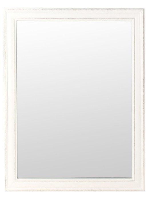 Настенное зеркало Classical в раме белого цвета