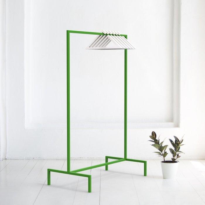 Вешалка напольная Metalframe в зеленом цвете