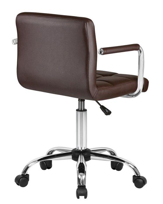 Офисное кресло для персонала Terry коричневого цвета