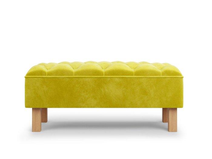 Банкетка Agat желтого цвета