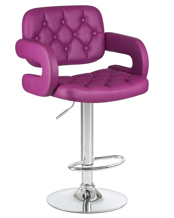 Стул барный Tiesto фиолетового цвета