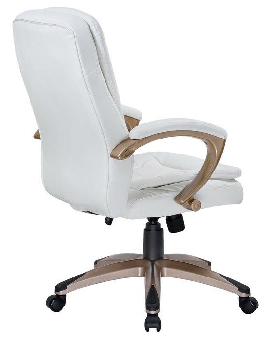 Офисное кресло для руководителей Donald белого цвета