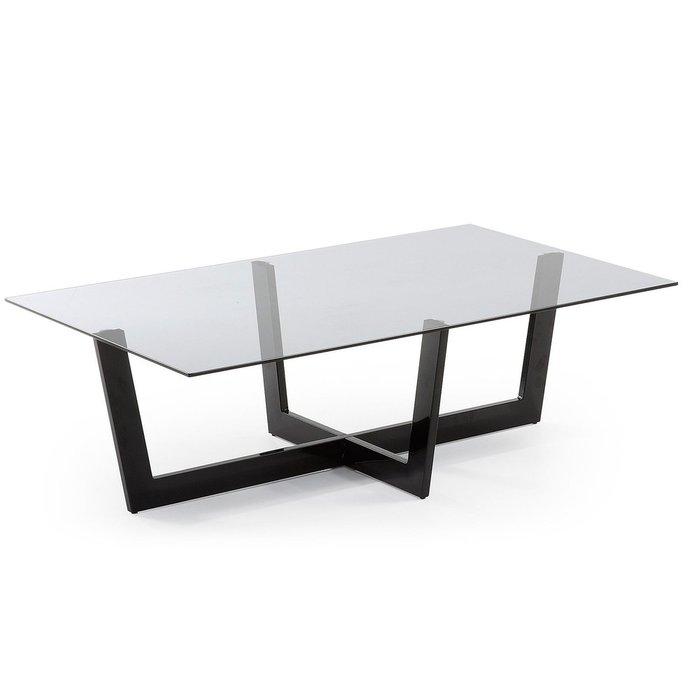 Журнальный столик Julia Grup Plum со стеклянной столешницей