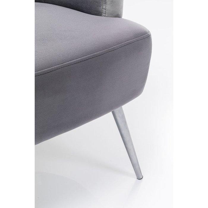 Кресло Sandwich серого цвета