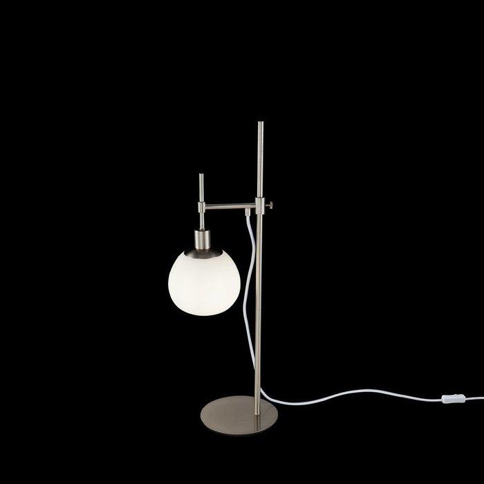 Настольная лампа Erich с плафоном из матового стекла