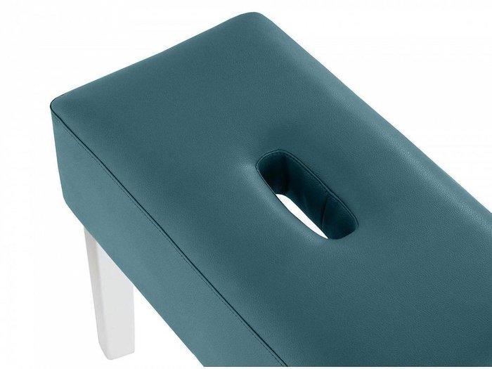 Пуф мягкий Handy темно-синего цвета
