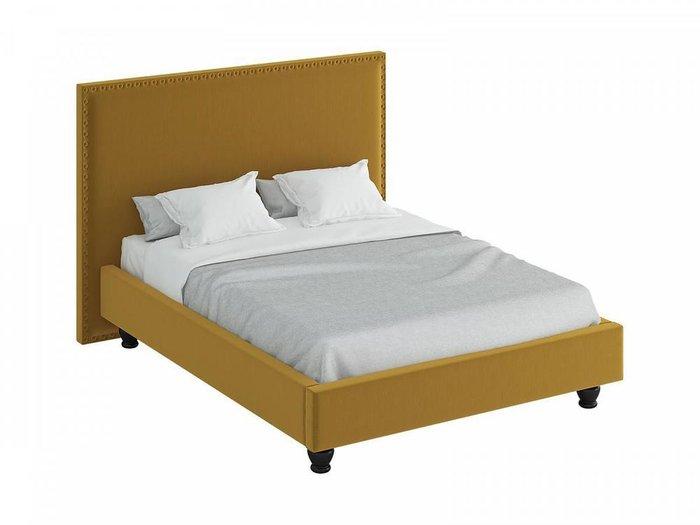 Кровать Blues горчичного цвета 160x200