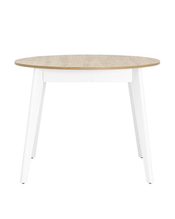 Обеденный раскладной стол Rondo из дерева