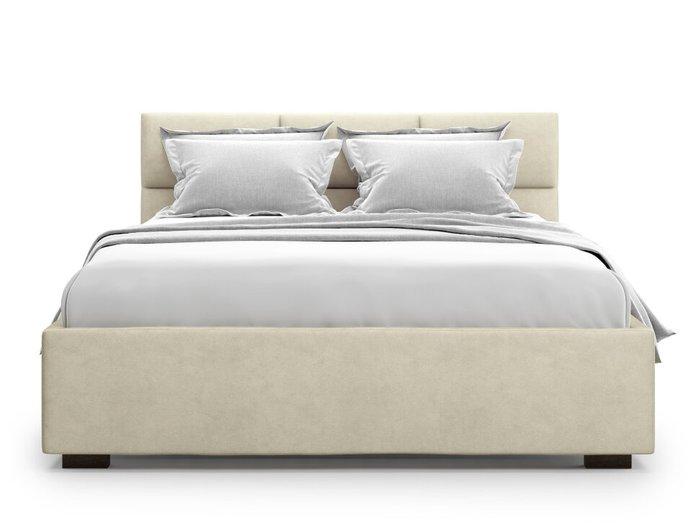 Кровать Bolsena 140х200 бежевого цвета с подъемным механизмом