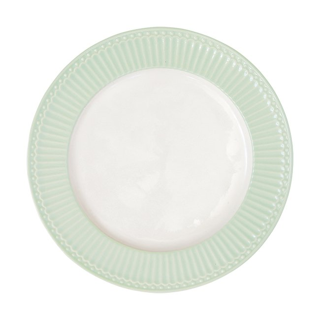 Блюдо Alice pale green из высококачественного фарфора