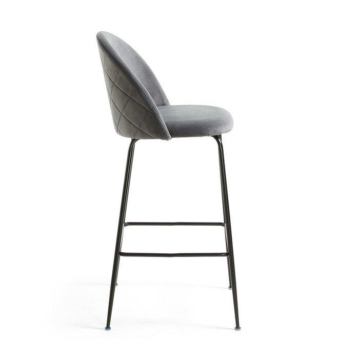 Барный стул Mystere серого цвета