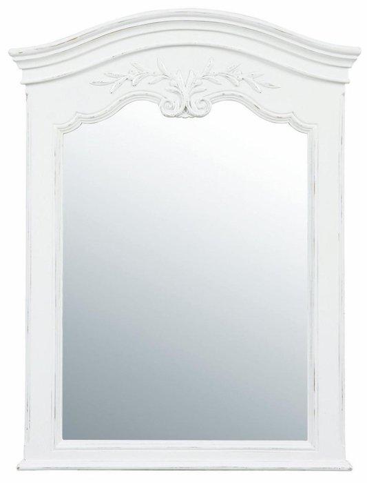 Зеркало к тумбе Марсель в белой раме