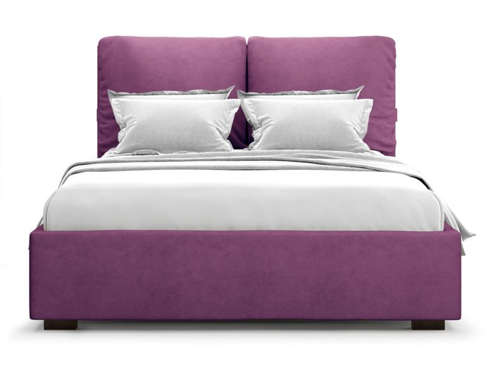 Кровать Trazimeno 160х200 пурпурного цвета с подъемным механизмом
