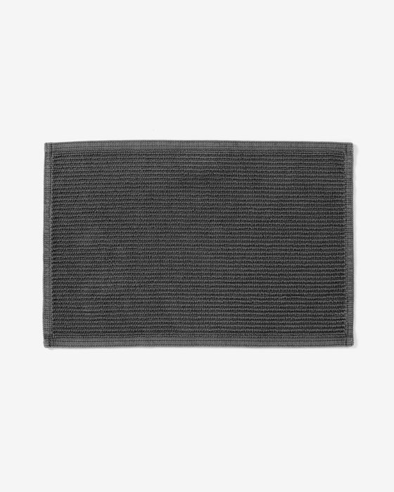 Коврик для ванной Miekki темно-серого цвета