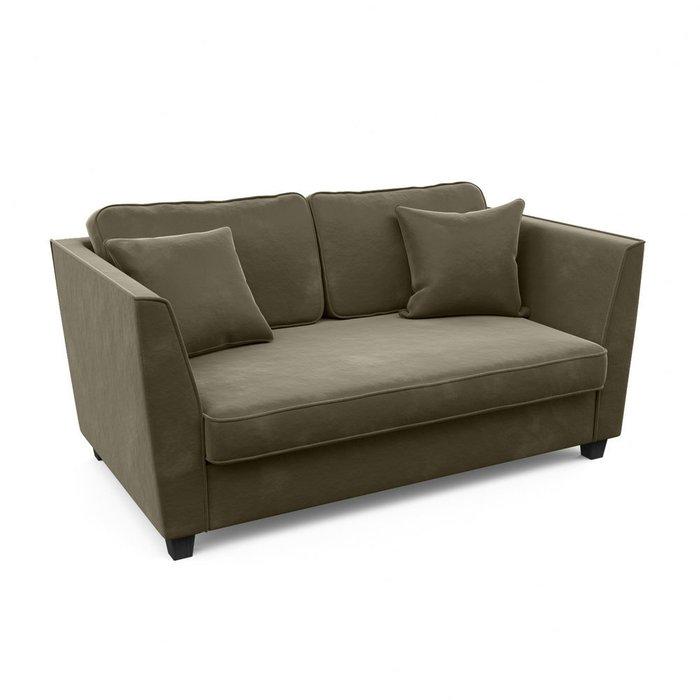 Двухместный диван Уолтер M темно-серого цвета