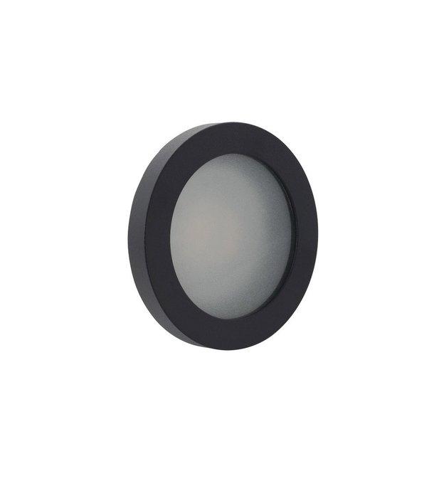 Встраиваемый светильник черного цвета