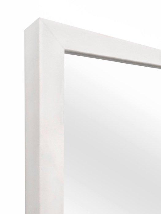 Зеркало настенное Alma в белой раме