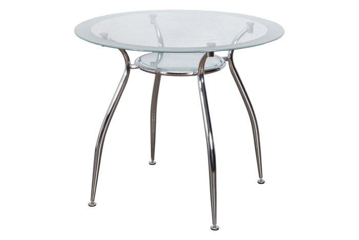Обеденный стол Finezia со стеклянной столешницей