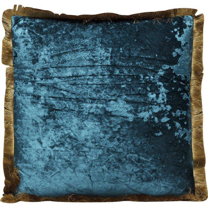 Подушка Cannes сине-зеленого цвета