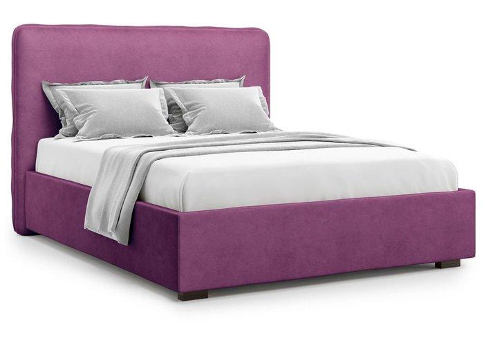 Кровать Brachano 180х200 фиолетового цвета