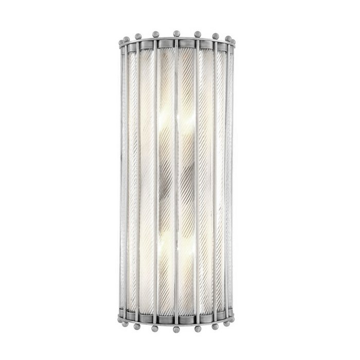 Настенный светильник Tiziano nickel из металла