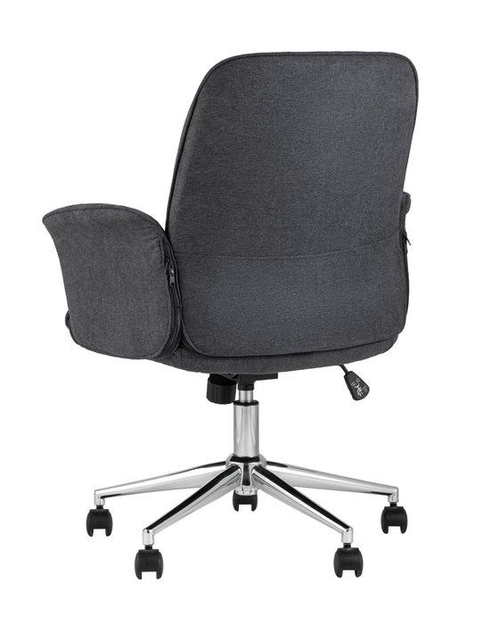 Стул офисный Simona серого цвета