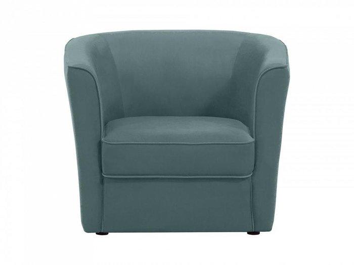 Кресло California серо-синего цвета