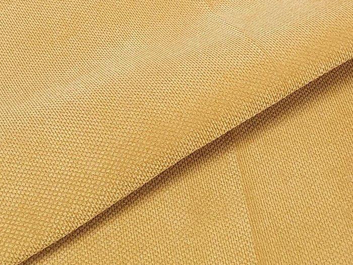 Прямой диван-кровать Сенатор желтого цвета