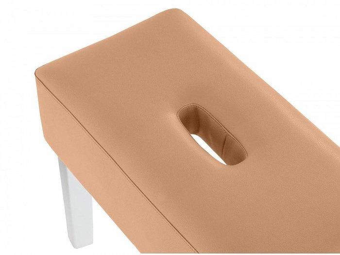 Пуф мягкий Handy коричневого цвета