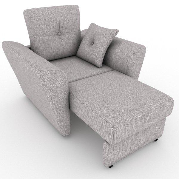 Кресло-кровать Neapol серого цвета