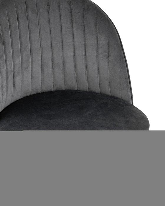 Стул Лион Страйпс серого цвета