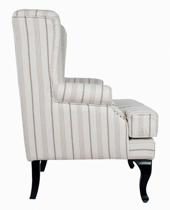 Кресло Lekalo с высокой спинкой и подлокотниками