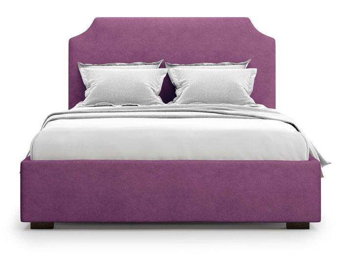 Кровать Izeo с подъемным механизмом 140х200 фиолетового цвета