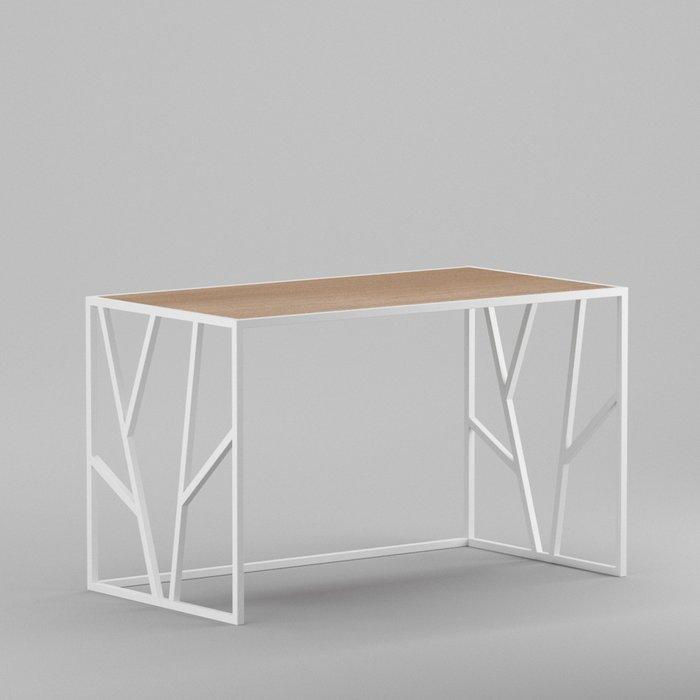 Рабочий стол Oxford white темный дуб
