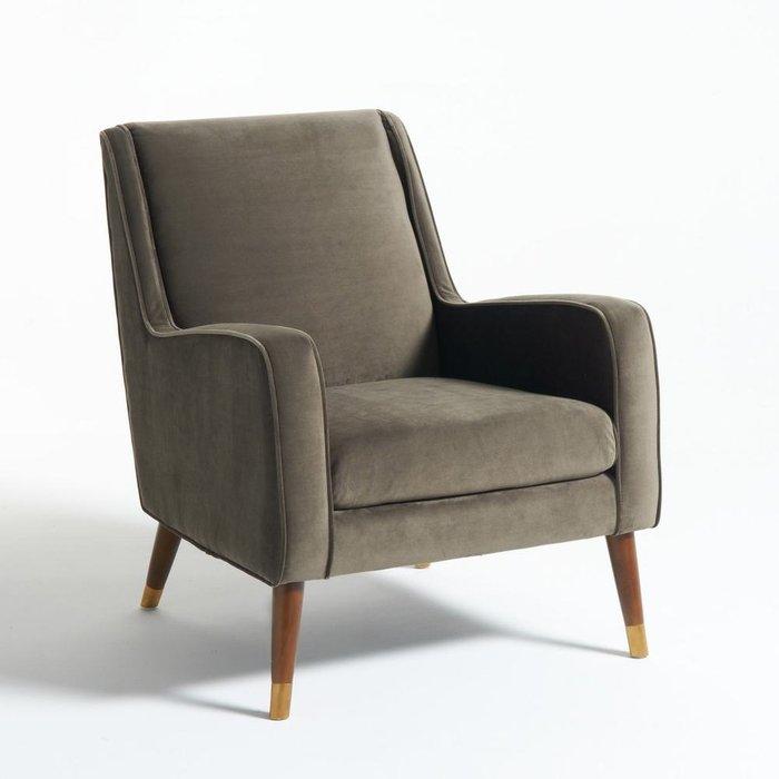 Кресло Wilde Y серо-коричневого цвета