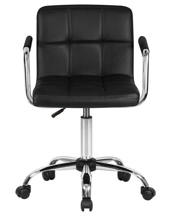 Офисное кресло для персонала Terry черного цвета