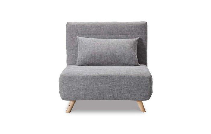 Кресло-кровать Flex серого цвета