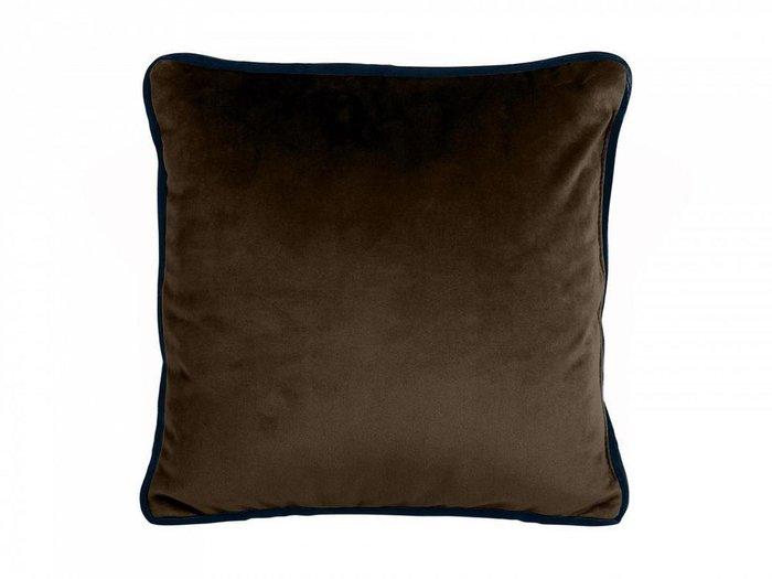 Подушка декоративная Boxy темно-коричневого цвета