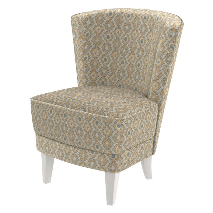 Кресло Rubia бежевого цвета