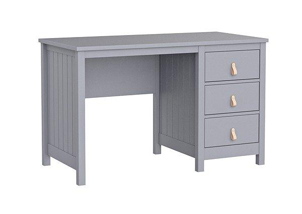 Стол письменный Wood серого цвета