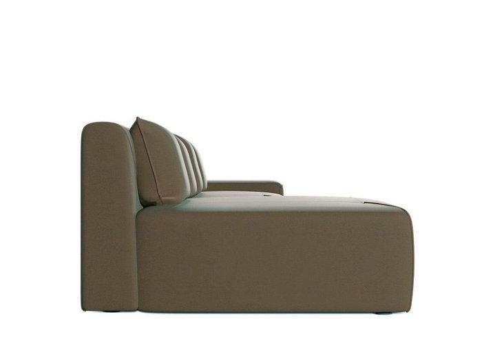 Диван-кровать Portu коричневого цвета
