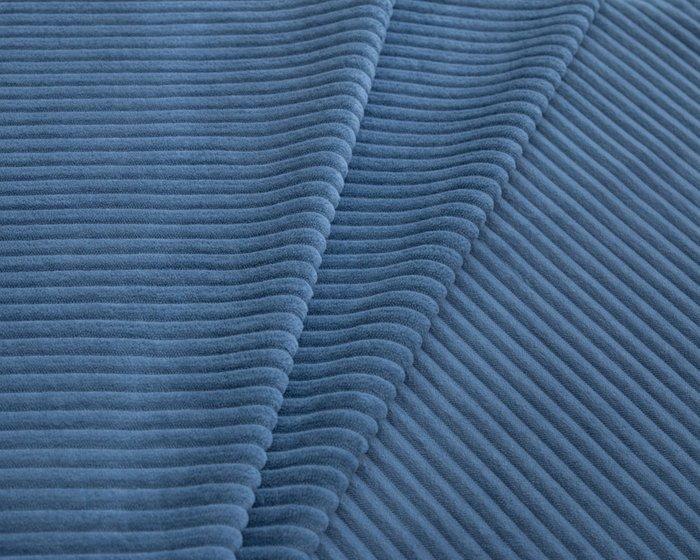 Покрывало Uno Cilium Blue 140x210 синего цвета