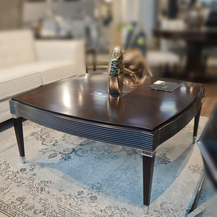 Журнальный стол Mestre коричневого цвета