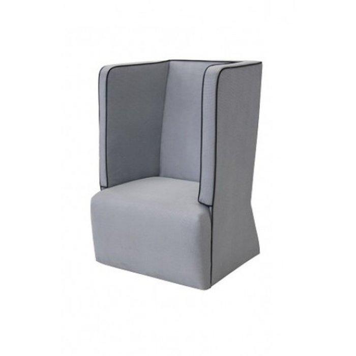Высокое кресло Танго серого цвета